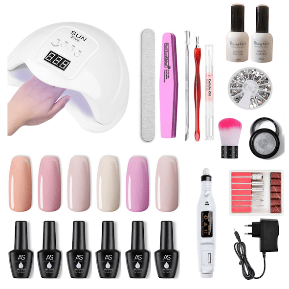 gel polish nail kit