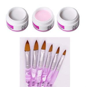 acrylic powder brush set