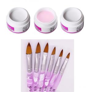 acrylic powder brush set