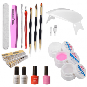 builder gel manicure kit