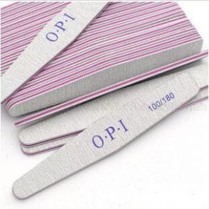 opi nail file set 1